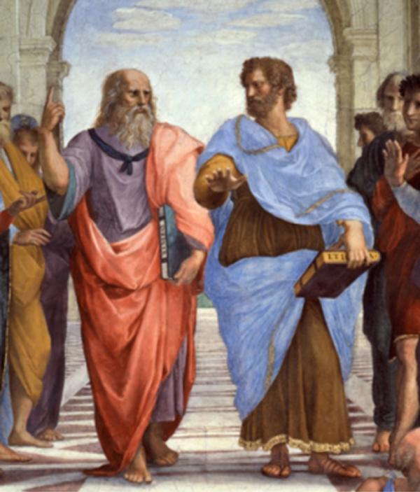 Ontología de Platón y Aristóteles