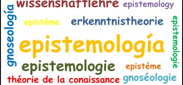 Nube de letras - epistemología