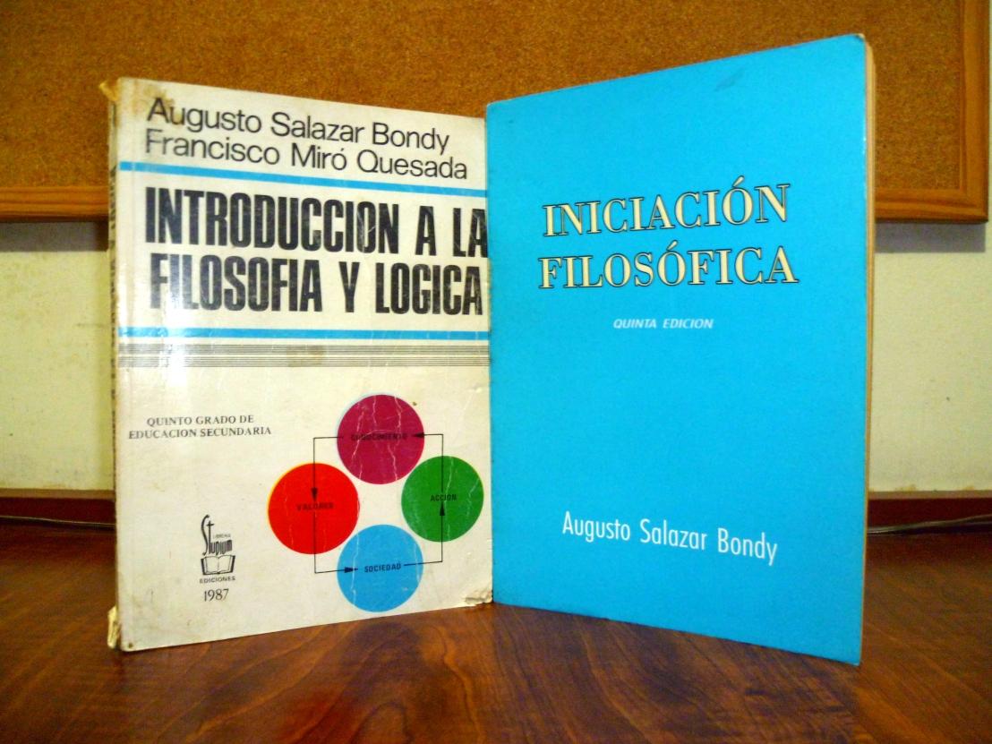 La definición de la filosofía según Augusto SalazarBondy