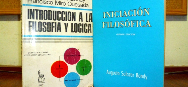 Textos Augusto Salazar Bondy