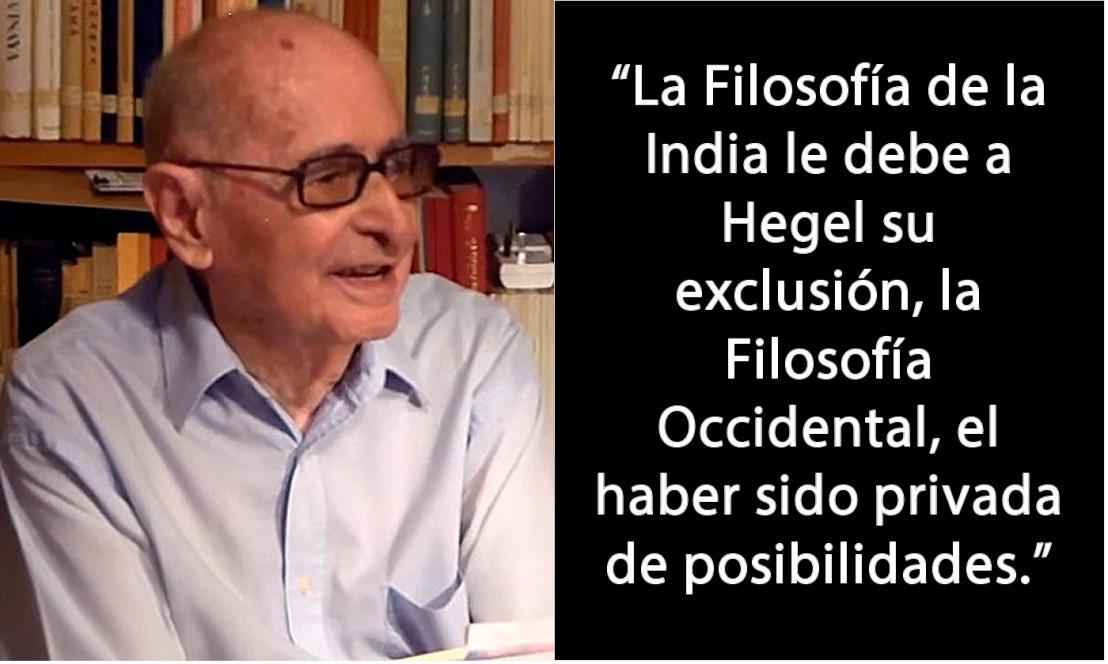 Fernando Tola  y la existencia de la filosofía de laIndia