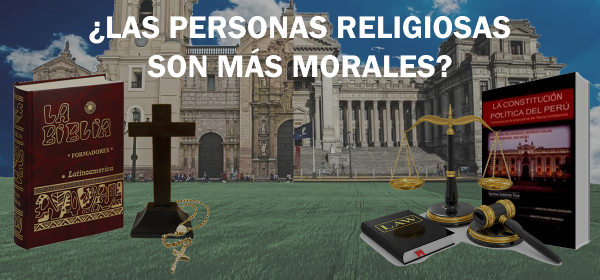Las personas religiosas son más morales