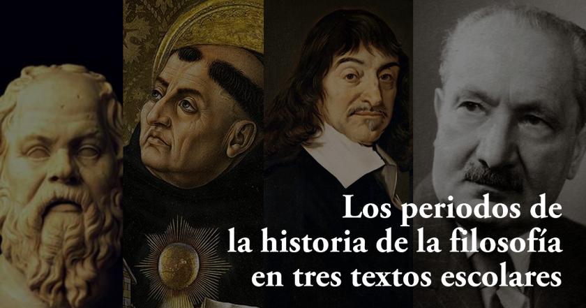 Titulo Periodos de la historia de la filosofía en textos escolares